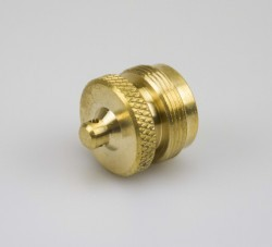 Brass Remote Connector Plug - Lehr, Inc - Lehr Inc