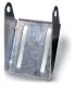 "4"" Galvanized Panel Bracket - Marpac"