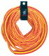 50' Tube Tow Rope/Bungee 4,150 lb 4-Person Capacity - Airhead