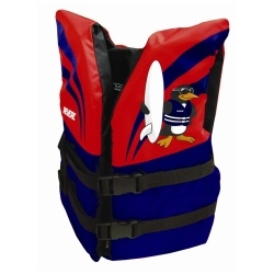 Youth (Boy) Life Vest PENGUIN RED/BLUE - Revere
